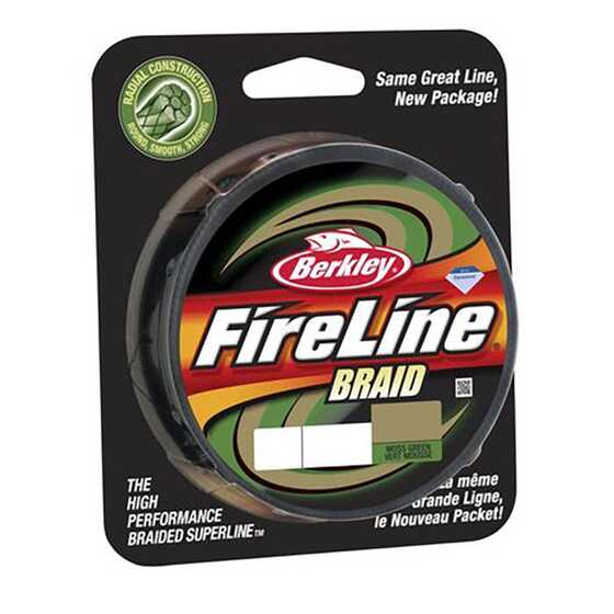 Berkley Fireline Braid Green
