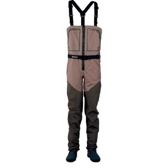 Hodgman Waders con Cerniera Anteriore Aesis Zip Front Stocking Foot