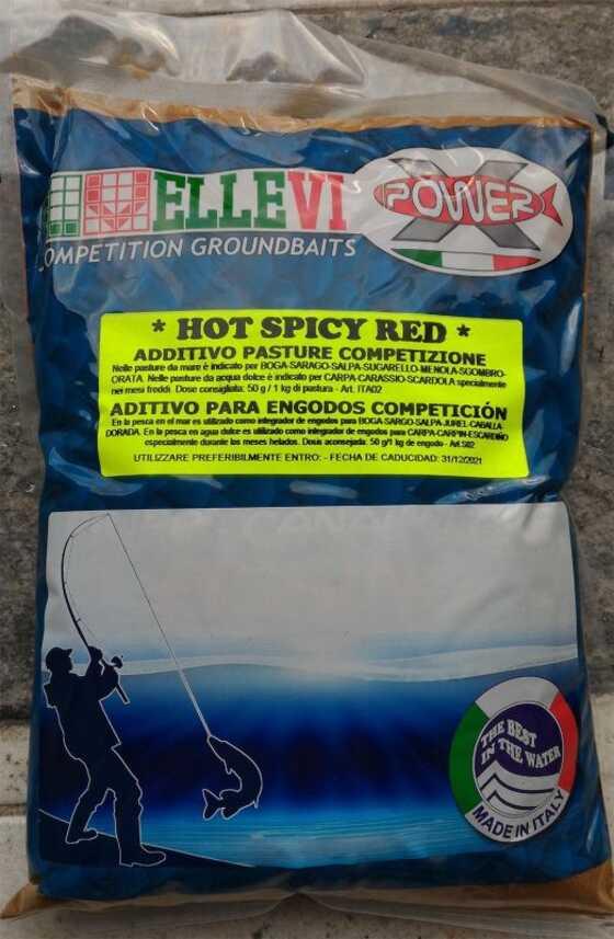Ellevi Additivo agli Amminoacidi Competizione Hot Spicy Red