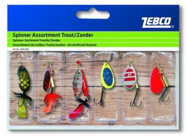 Zebco Spinner Assortment Trout - Zander