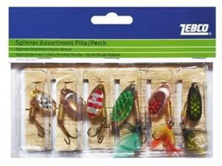 Zebco Spinner Assortment Pike - Perch