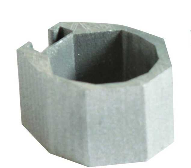 Colmic Blocco in Metallo per Connettore