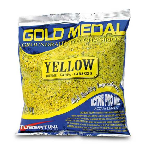 Tubertini Gold Medal Yellow Groundbait