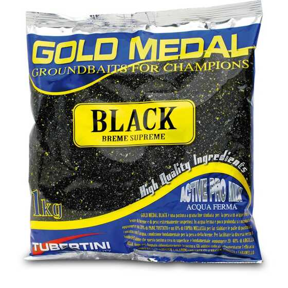 Tubertini Gold Medal Black Groundbait