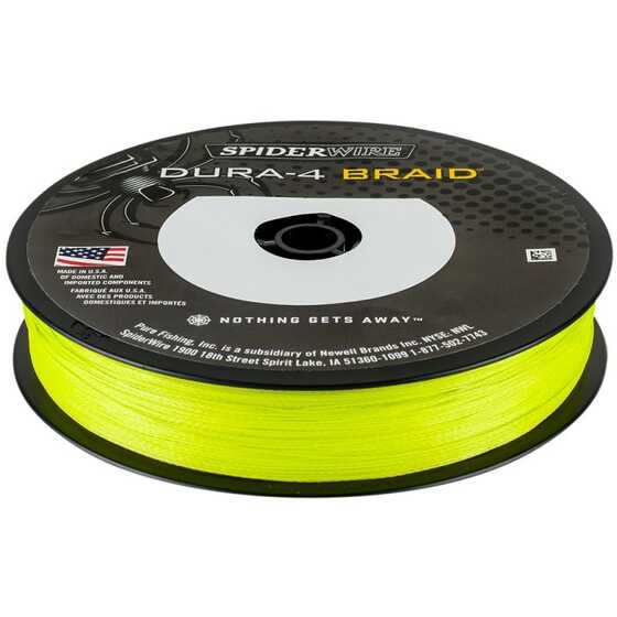 Spiderwire Dura 4 Yellow