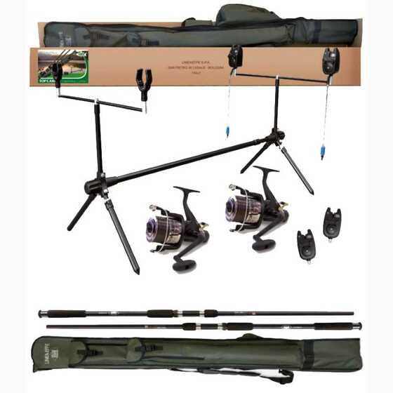 Lineaeffe Top Carp - Full Carpfishing Combo 2