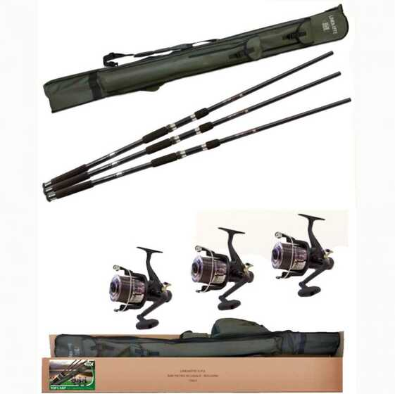 Lineaeffe Top Carp - Full Carpfishing Combo 3