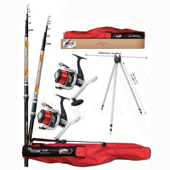 Lineaeffe Top Telesurf - Full Surfcasting Combo