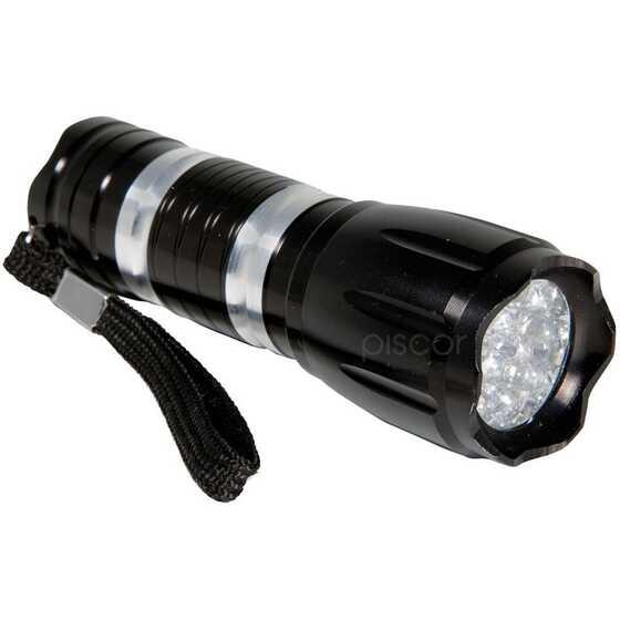 Lineaeffe Lampe de Poche en Aluminium Uv