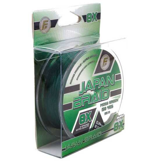 Fishing Ferrari FF Japan Braid 8X - Moss Green