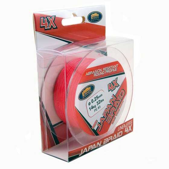 Lineaeffe Japan Braid 4X - Red