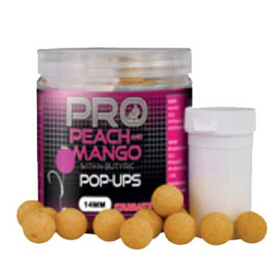 Starbaits Probio Pop Ups Peach + Mango