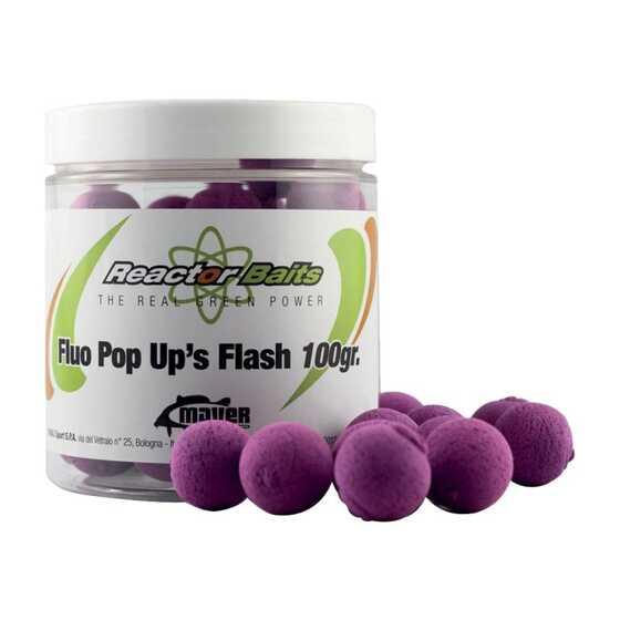 Reactor Baits Pop Up Flash Fluo Neutral Flavour