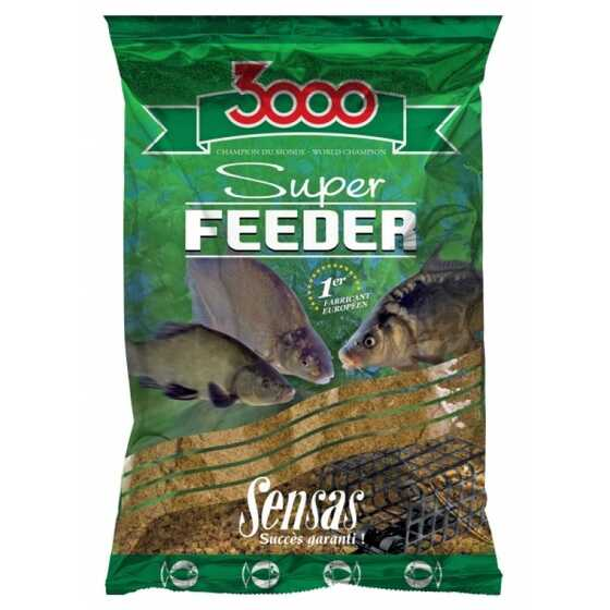 Sensas Amorce 3000 Super Feeder Lake Black