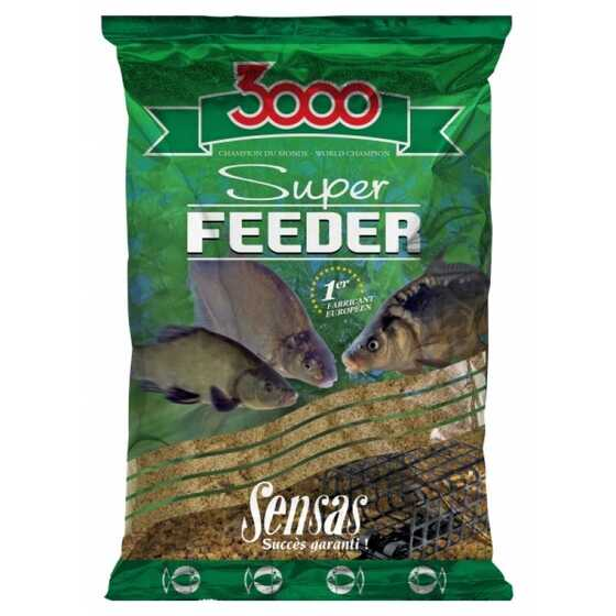 Sensas Engodo 3000 Super Feeder River Black