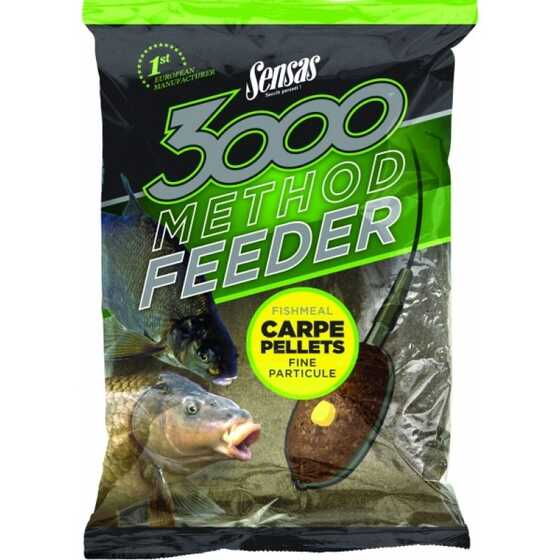 Sensas 3000 Method Carp Pellets Groundbait