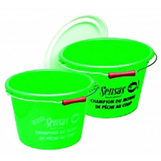 Sensas 17 L Club Green bucket