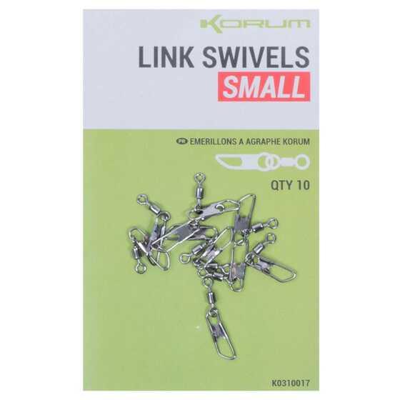 Korum Link Swivels Small