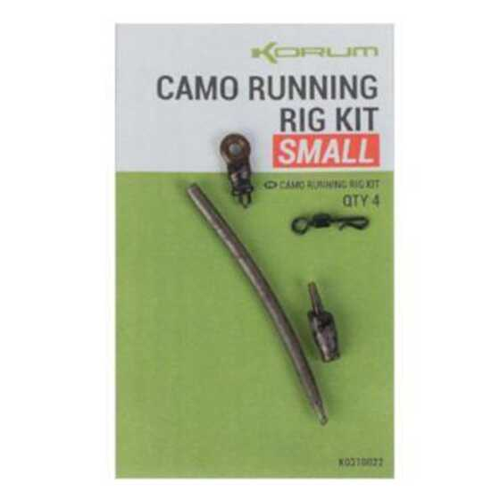 Korum Camo Running Rig Kit Small