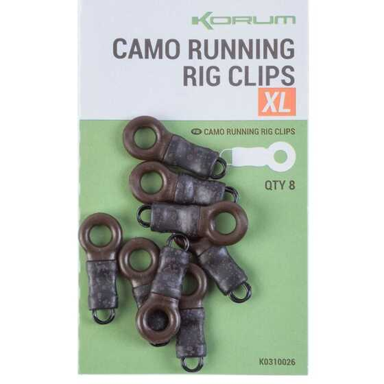 Korum Running Rig Clips XL