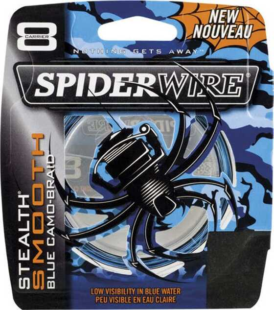 Spiderwire Stealth Smooth 8 Blue Camo