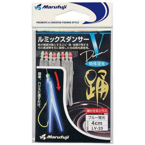 Marufuji Strip Sintetico Luminoso Luminous Bait