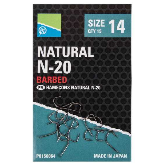 Preston Natural N 20 Hook
