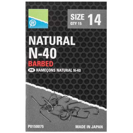 Preston Natural N 40 Hook