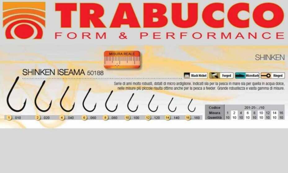 Trabucco Shinken Iseama 50188