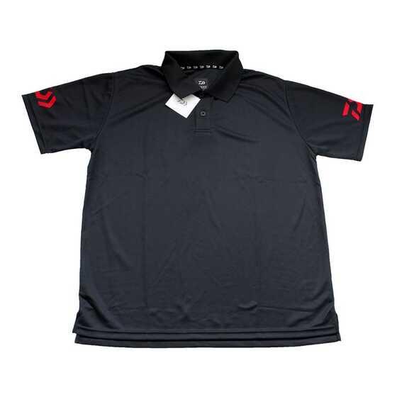 Daiwa Polo T-shirt Black