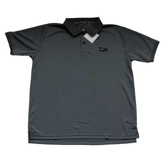 Daiwa Polo T-shirt Gunmetal