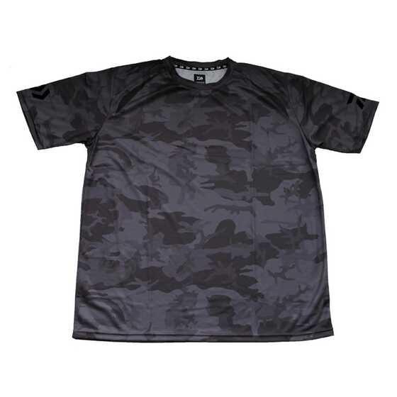 Daiwa T-Shirt Manica Corta Gray Camo