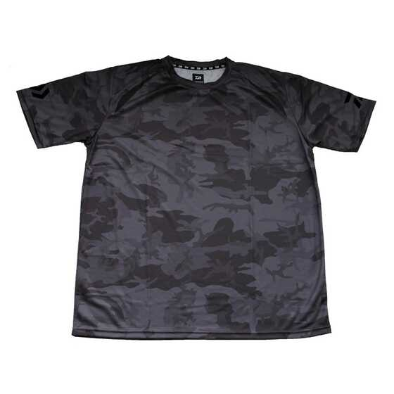 Daiwa T-Shirt Manches Courtes Gray Camo