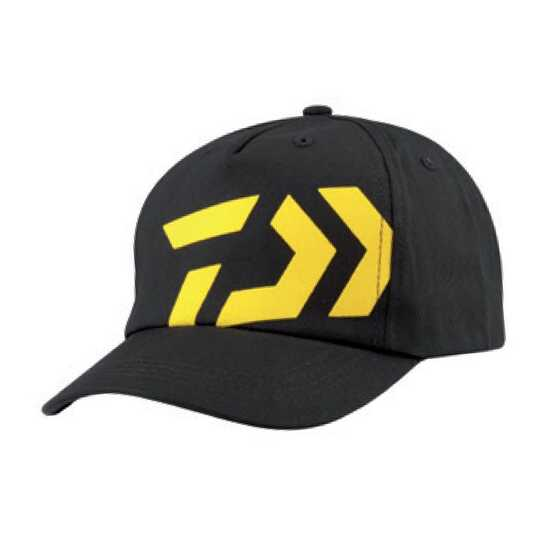 Daiwa Bonnet Black/Yellow