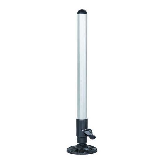 Trabucco Genius Box Telescopic Leg ALLUMINIUM Finish