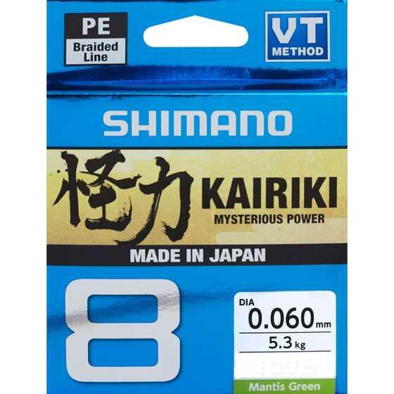 Shimano Kairiki 8 - Mantis Green 150 m