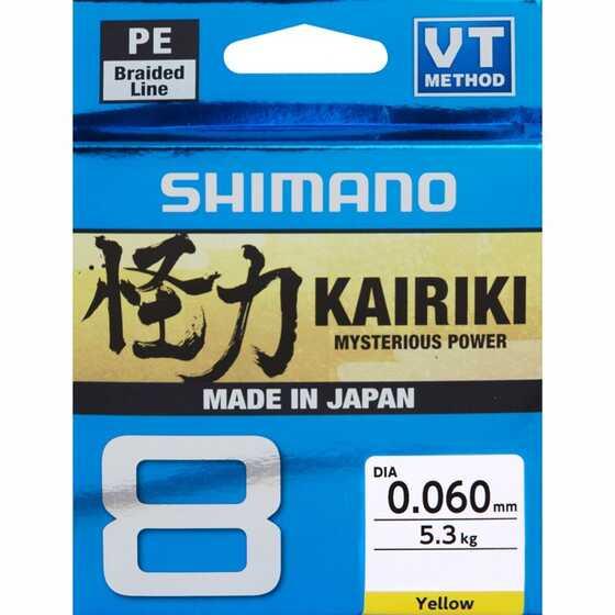 Shimano Kairiki 8 - Yellow 300 m