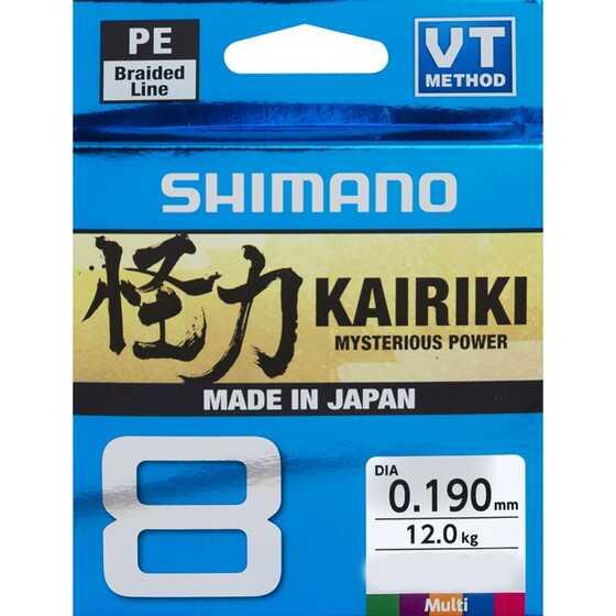 Shimano Kairiki 8 - Multicolor 300 m