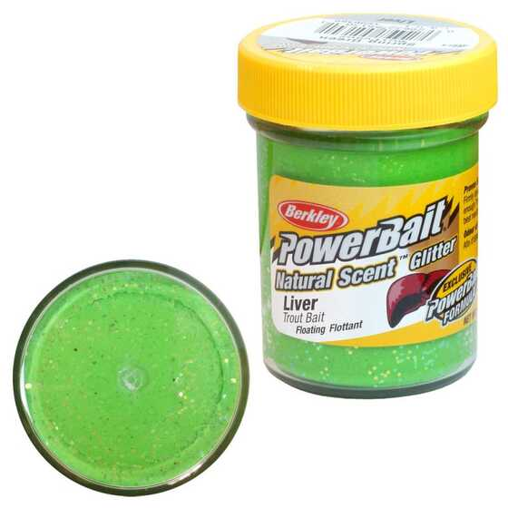 Berkley PowerBait Natural Scent Liver Spring Green Trout Dough