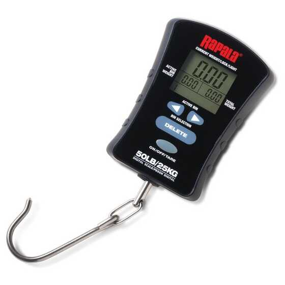 Rapala 25 Kg Compact Touch Screen Scale