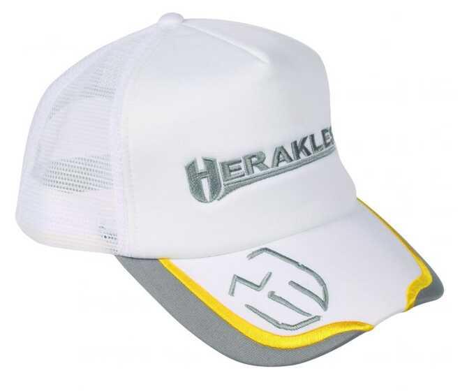 Herakles Cappello Bianco Con Rete