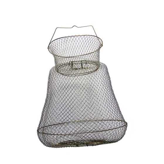 Contumax Cesta de Metal Oval con Cuello
