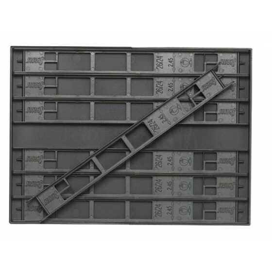 Sensas Modulo + Avvolgilenza 26 cm - XL - 14 Pcs