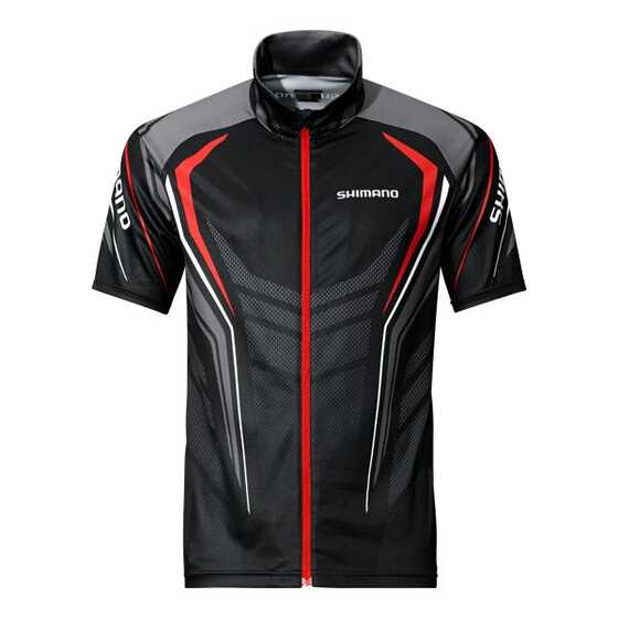 Shimano T-shirt Full Zip Print