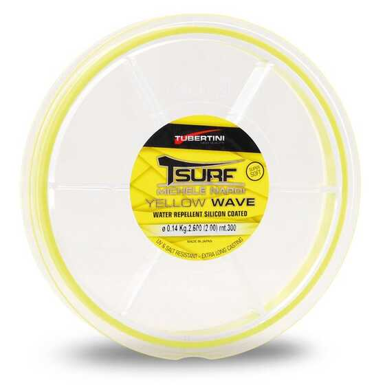 Tubertini Monofilo T-Surf Yellow