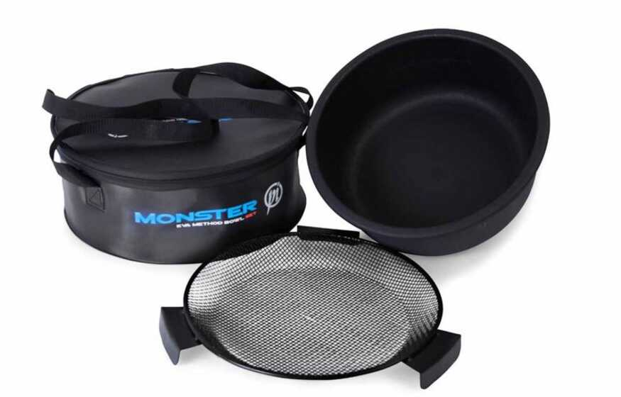 Preston Monster EVA Method Bowl Set With Zip