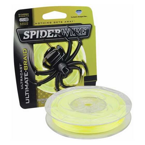 Spiderwire New Ultracast 8 carriers Yellow