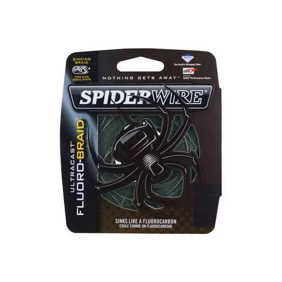 Spiderwire New Ultracast Fluorobraid Green