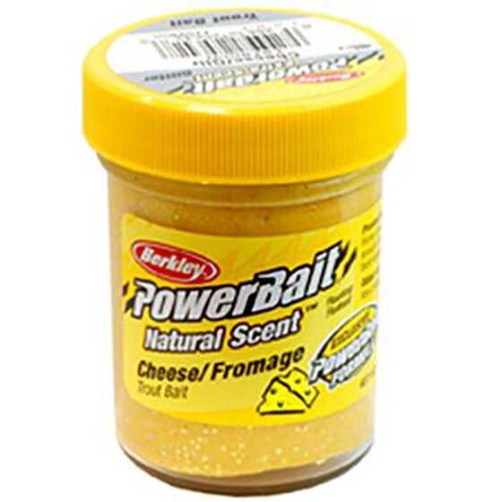 Berkley Pasta Trucha PowerBait Natural Scent Cheese Glitter