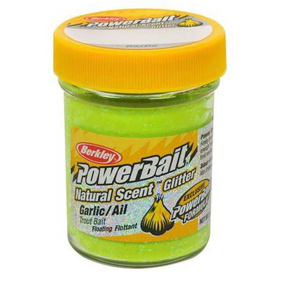 Berkley Pasta Trucha PowerBait Natural Scent Garlic Chartreuse